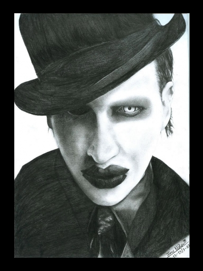 Marilyn Manson par PyramidHeadxXx